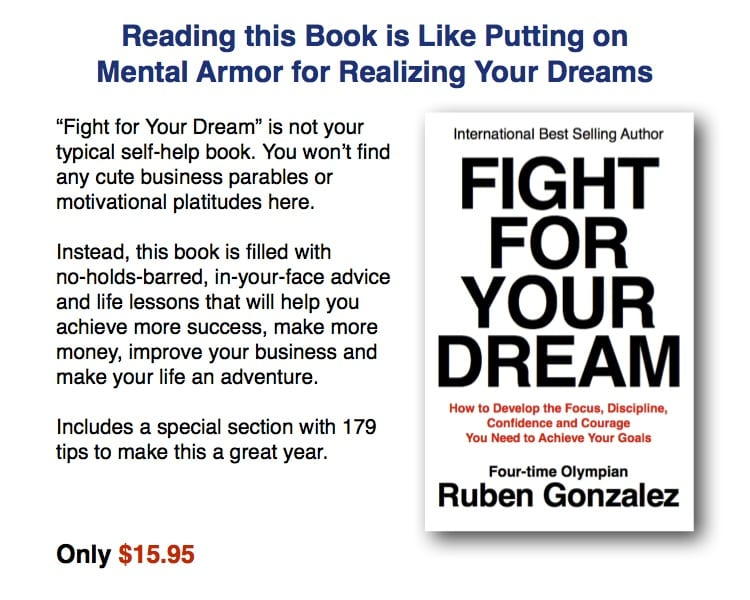 Olympic Motivational Speaker Ruben Gonzalez